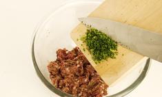 Как приготовить фарш для чебуреков