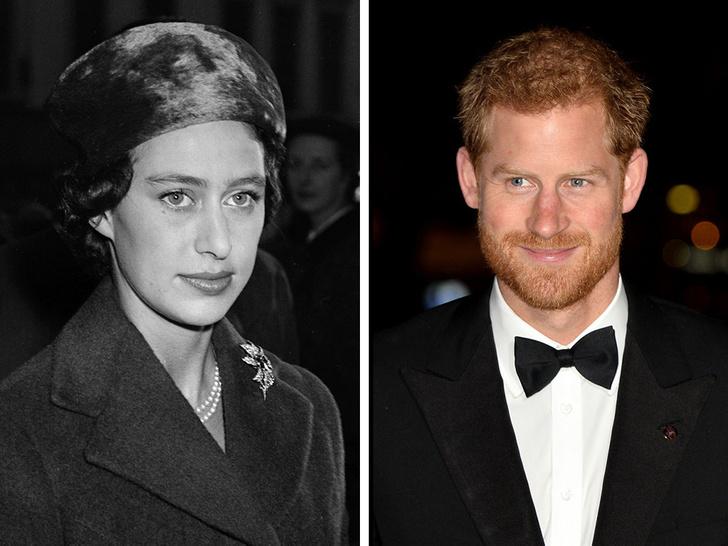 Фото №1 - Такие разные судьбы: почему Гарри смог отказаться от королевской жизни, а Маргарет— нет