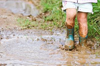 Фото №1 - Дети грязи не боятся