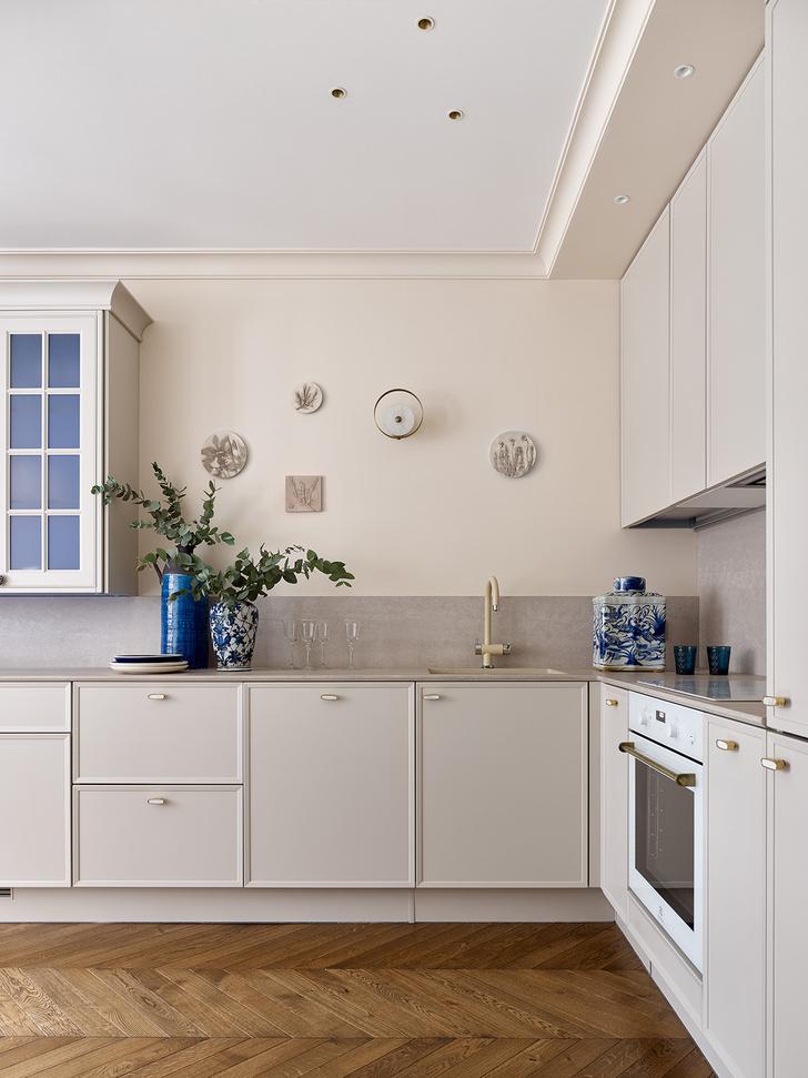 Фото №2 - Трехкомнатная квартира в оттенках синего цвета