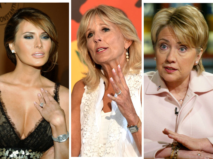 Фото №1 - Время Первых леди: какие часы носят жены президентов США
