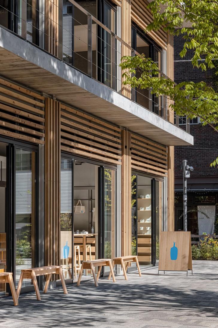 Фото №2 - Минималистское кафе в Токио по проекту Кэйдзи Асизавы