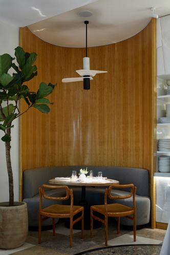 Фото №2 - Ресторан Ava Cafe по проекту бюро Geometry