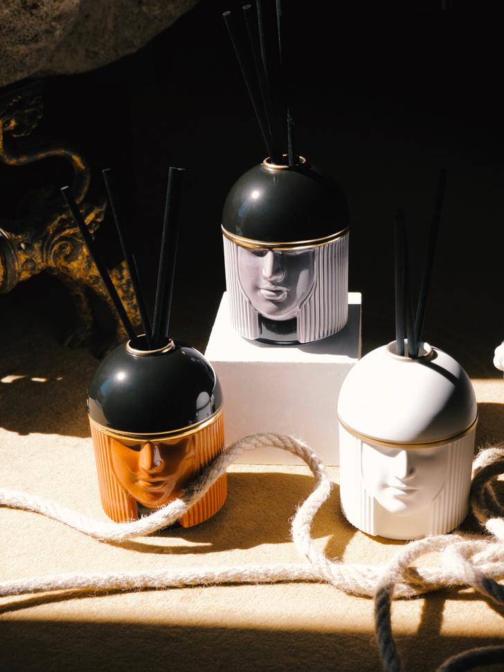 Фото №5 - Первая коллекция Луки Никетто для Ginori1735