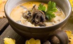Грибной крем-суп