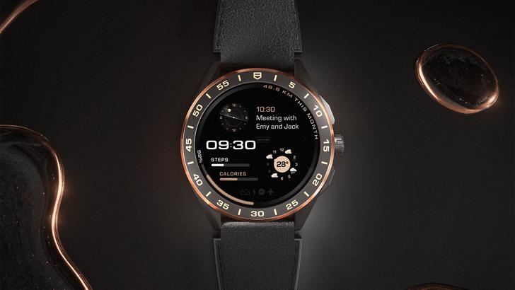 Фото №5 - Роскошь золота: как выглядят новые смарт-часы TAG Heuer Connected