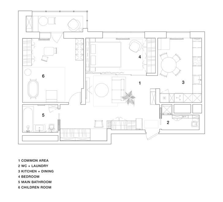 Фото №13 - Двухкомнатная квартира с многофункциональной планировкой