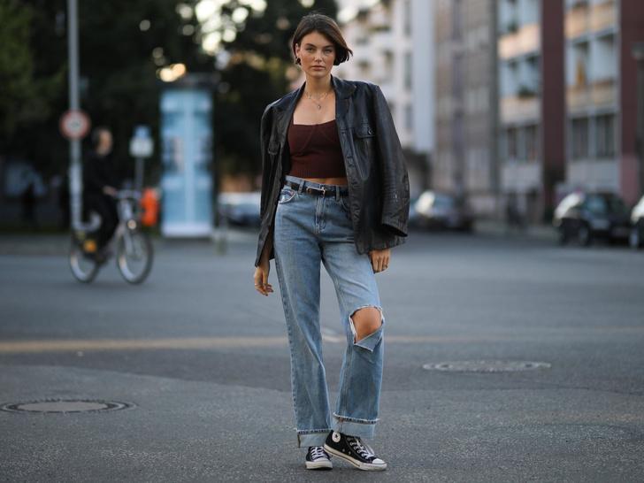 Фото №25 - Было ваше, стало наше: как и с чем носить джинсы-бойфренды