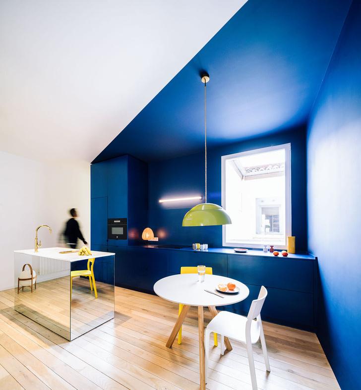 Фото №4 - Яркая квартира в Мадриде
