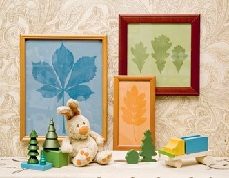 Фото №4 - Картины из листьев и цветов