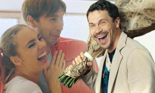 Фото №1 - Уникальный эксклюзив! Актерские ляпы и смешные моменты на съемках сериала «Дылды», оставшиеся за кадром (видео)