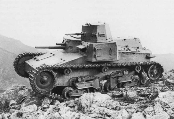 Фото №9 - Стальная жуть: самые уродливые танки Второй мировой