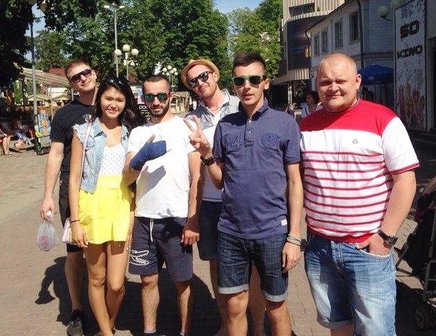 Фото №1 - Красноярские кавээнщики – в составе участников «Голосящего КиВиНа – 2014»