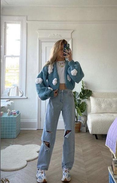 Фото №6 - С чем носить широкие джинсы: 7 стильных образов