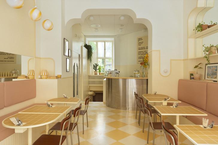Фото №2 - Кафе в стиле ретро в Стокгольме