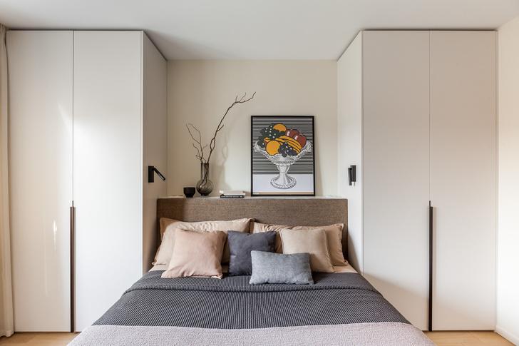Фото №9 - Светлая квартира 64 м² с золотыми акцентами