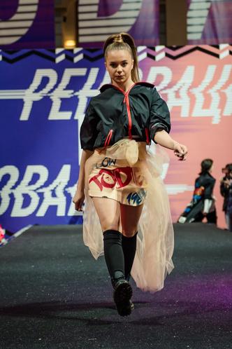 Фото №5 - Лучшие образы Street Fashion подиума с Недели моды в Москве