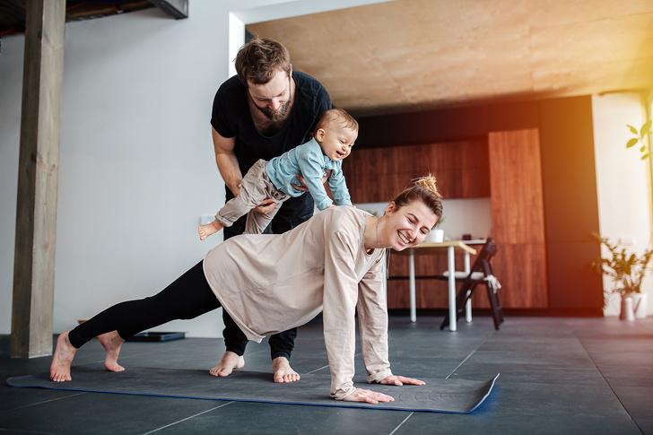 домашние тренировки йога спорт