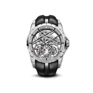Фото №1 - Добро пожаловать в будущее: новые часы Roger Dubuis с двойным парящим турбийоном