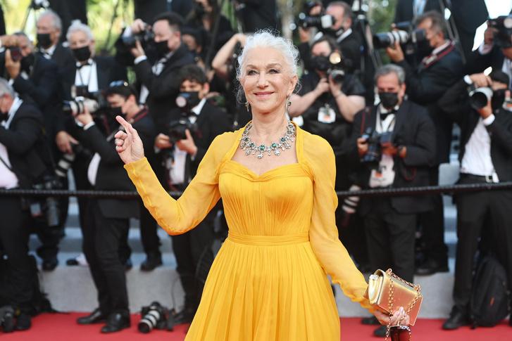 Фото №4 - Королева любой красной дорожки: ослепительная Хелен Миррен на Каннском кинофестивале