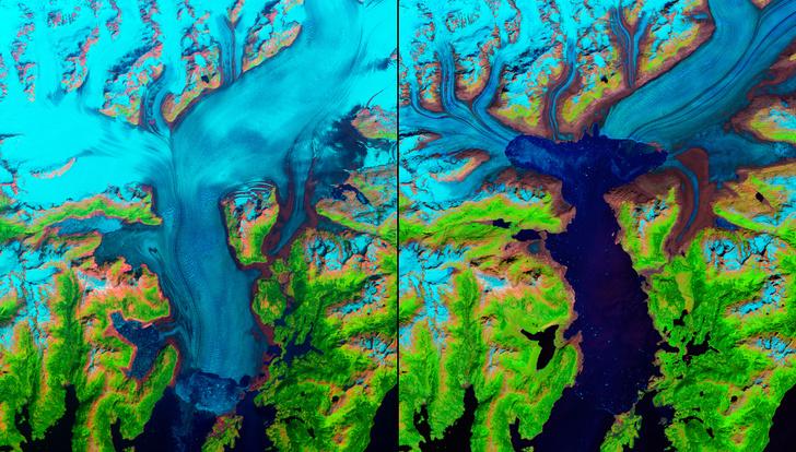 Фото №1 - Было— стало: 6 примеров того, как человек и изменение климата влияют на планету