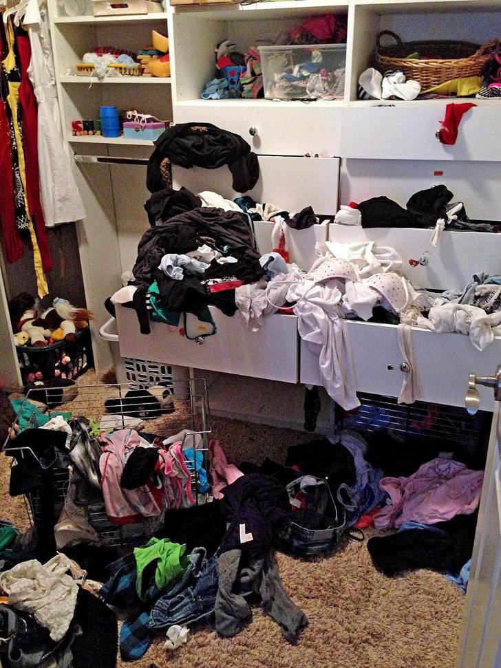 Фото №13 - Самые грязные спальни простых британцев: 16 трогательных фото