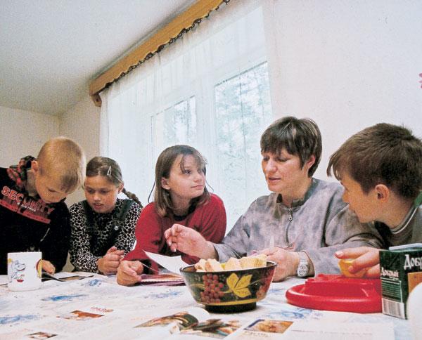 Фото №2 - Деревня для одиноких детей
