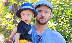Милота дня: Джастин Тимберлейк на прогулке с сыном