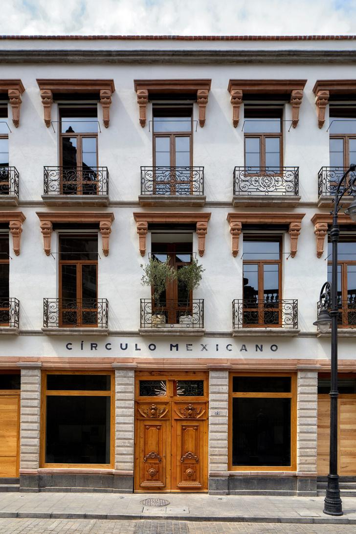 Фото №2 - Минималистский отель в здании XIX века в Мехико