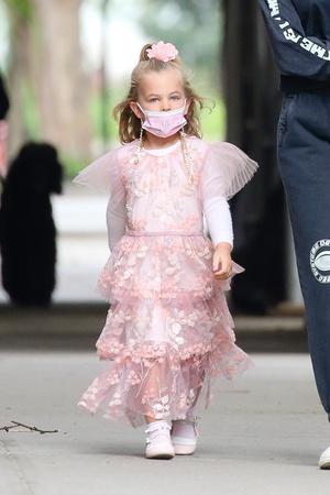 Фото №3 - Папина принцесса: Лея Купер Шейк— самая маленькая звезда Нью-Йорка