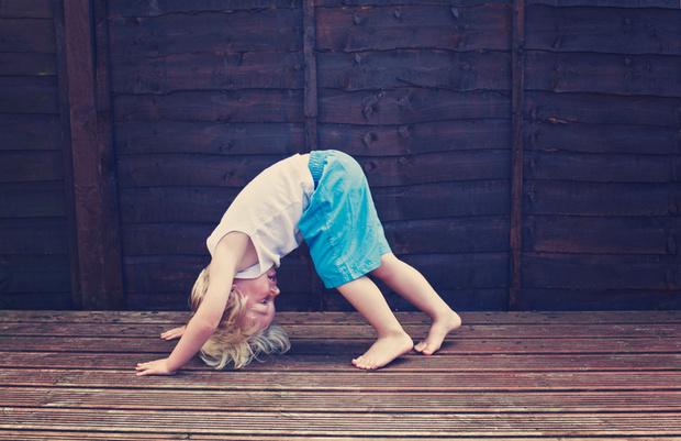 Фото №3 - Йога для малышей