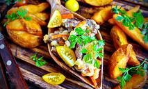 Скоблянка из свинины с картошк