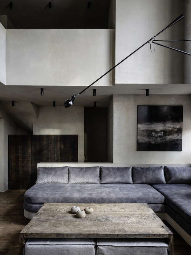 Фото №2 - Квартира в доме Наркомфина: проект Натальи Белоноговой