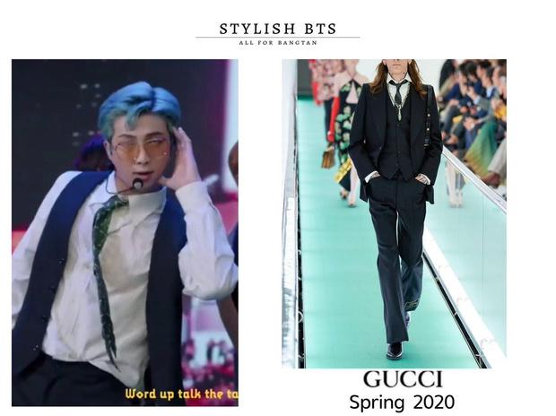 Фото №3 - RM из BTS попал в список самых модных людей 2020 года 😎