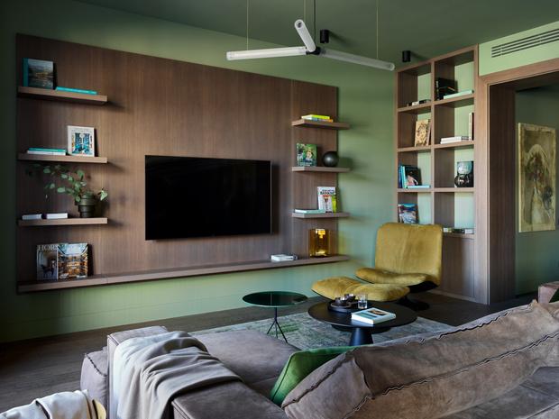 Фото №9 - Квартира 140 м² на Плющихе по проекту Tatiana Alenina design bureau