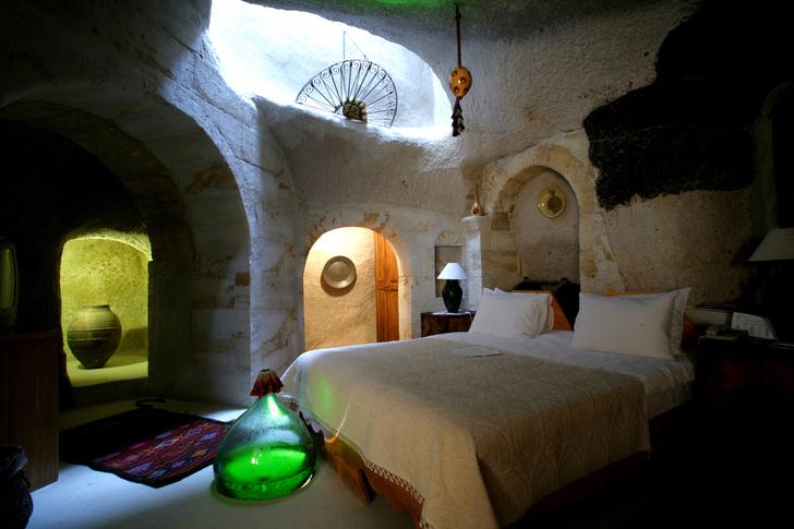 Фото №6 - Удивительный отель с номерами в пещерах в Турции