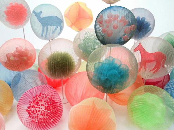 Фото №4 - Удивительные скульптуры из ткани Марико Кусумото: такого вы не встречали!
