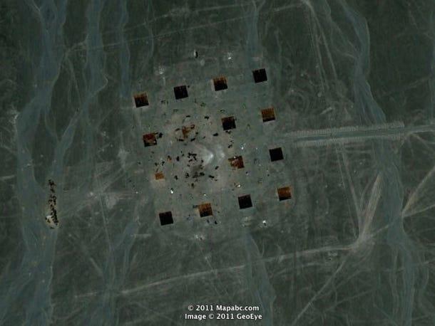 Фото №3 - Загадочные знаки посреди пустыни Гоби, найденные в 2011 году