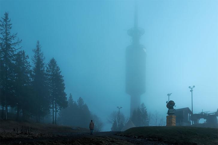 Фото №1 - Мы не знаем как, но норвежский фотограф делает постапокалиптические снимки с натуры