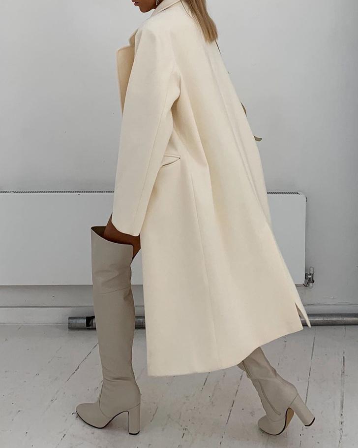 Фото №3 - С чем носить ботфорты этой осенью: безупречный образ стилиста Софии Коэльо