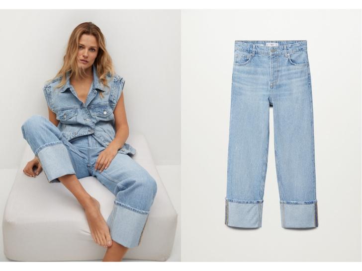 Фото №9 - Голубые джинсы— самая главная покупка лета. Рассказываем, на какие модели обратить внимание