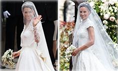 Один в один: 7 одинаковых кадров со свадеб Пиппы и Кейт Миддлтон