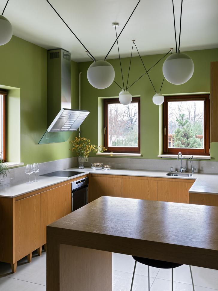 Фото №7 - Дом в зеленых тонах под Минском