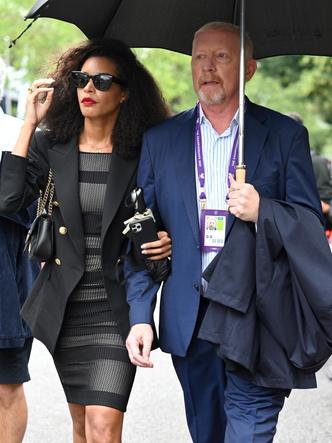 Фото №7 - Бекхэм с девушкой, кузен Королевы и другие знаменитости на открытии Уимблдона 2021