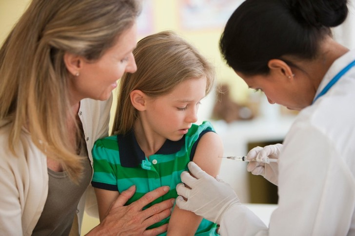 реакции детей на прививки