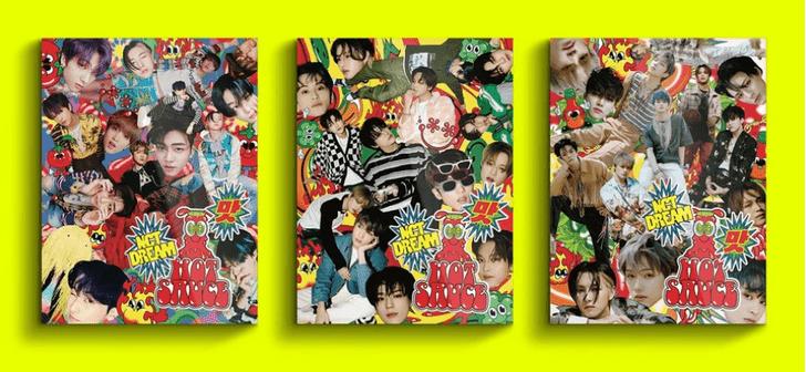 Фото №1 - Hot Sauce: NCT Dream выпустили первый полноценный альбом и уже бьют рекорды 🔥