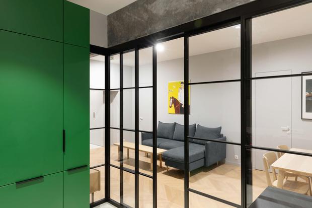 Фото №9 - Color Blocking: яркая квартира 63 м² в сталинке