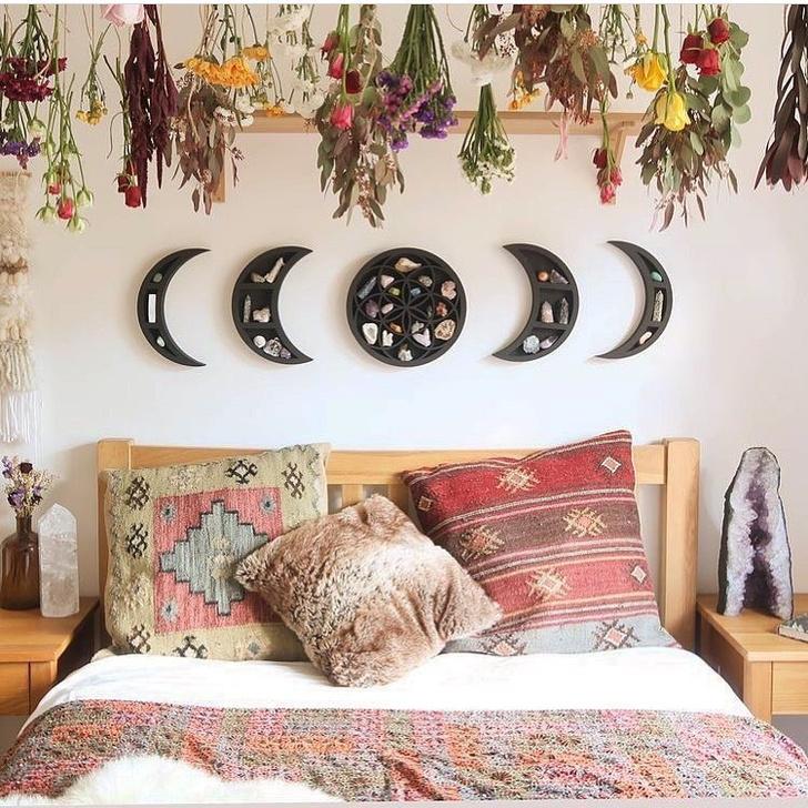 Фото №6 - Спальня в стиле бохо: идеи оформления