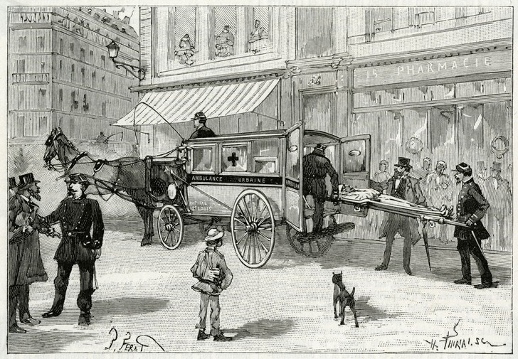 Фото №1 - Почему автомобили скорой помощи называют каретами?