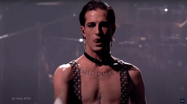 Участника Евровидения-2021 Давида Дамиано заподозрили в употреблении наркотиков